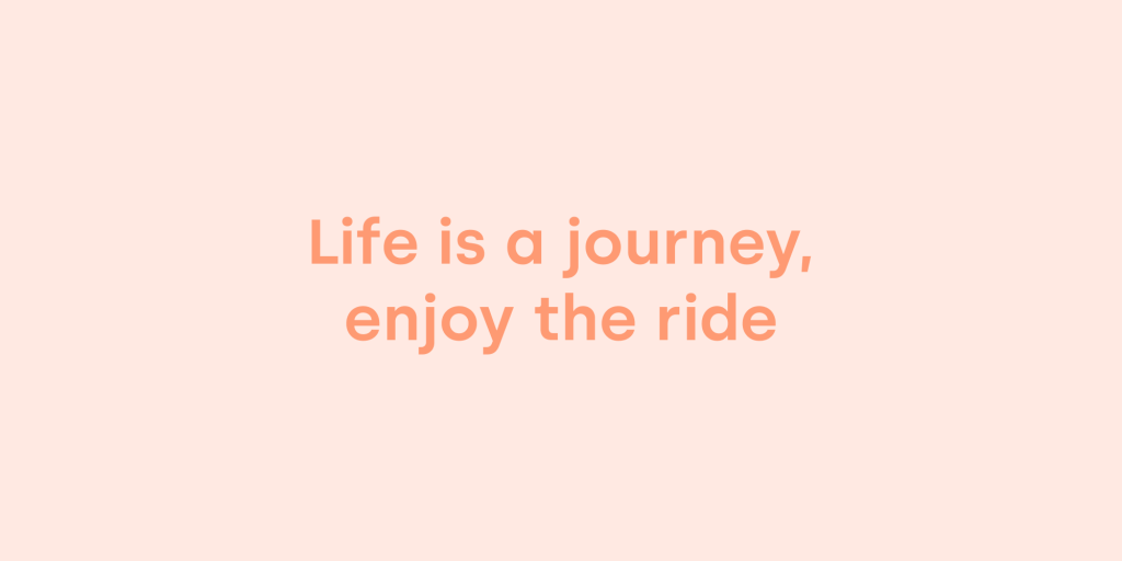 2020: life is a journey, enjoy the ride - Studio Rocket Power