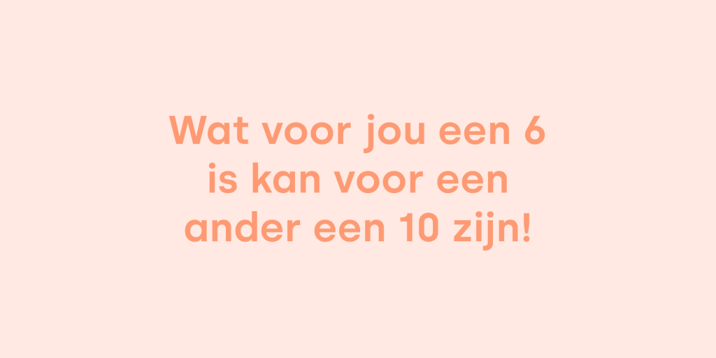 Perfectionisme tips quote