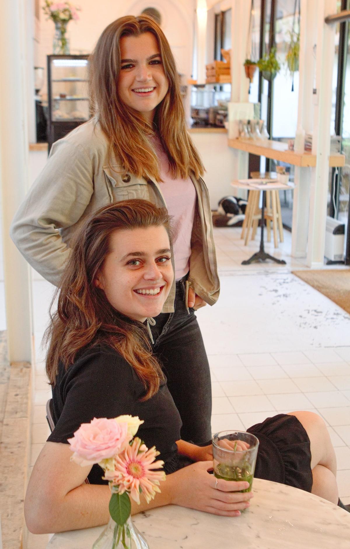 Rosalie en Denise